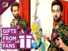 Nakuul Mehta Receives Gifts From His Fans | Exclusive | India Forums