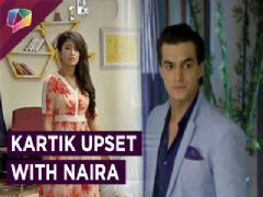 Kartik Gets Upset With Naira On Their Anniversary | Yeh Rishta Kya Kehlata Hai | Star Plus