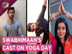 Ankitta Sharma, Samridh Bawa And Saahil Uppal Show Their Yoga Poses | Swabhimaan