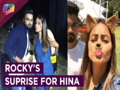 Hina Khan Gets A Surprise From Boyfriend Rocky | Spain Diaries | Khatron Ke Khiladi | Colors Tv