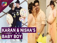 Karan Mehra And Nisha Rawal Share Their Baby Boy's First Picture | India Forums
