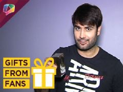 Upload Video Vivian Dsena Receives Gifts From His Fans Part-02 | Exclusive | India Forums