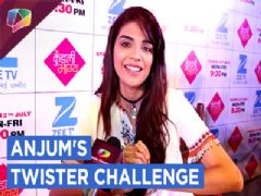 Anjum Fakih Aka Shrishti Takes Up Our Twister Challenge | Kundali Bhagya | Exclusive