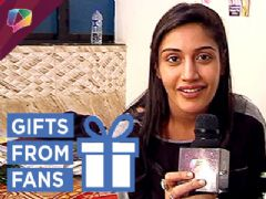 Surbhi Chandna Aka Anika Unwraps Gifts With Kunal And Shrenu | Surprises Fan | Ishqbaaaz