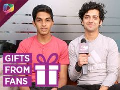 Sumedh Mudgalkar Unwraps Gifts From His Fans With Rohit Phalke And India Forums