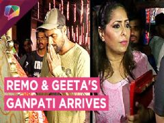 Remo D'souza And Geeta Kapoor Warmly Welcome Bappa