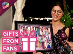 Rubina Dilaik Receives Gifts From Fans