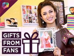 Divyanka Tripathi Dahiya Receives Gifts From Her Fans