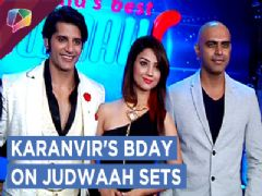 Karanvir Bohra Celebrates His Birthday On The Sets Of Judwaah Along With Adaa Khan