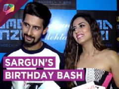 Ravi Dubey Throws A Birthday Bash For Sargun Mehta | Star Studded Party