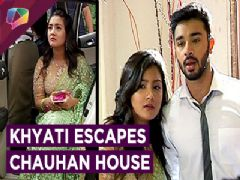 Karan-Naina And Meghna-Kunal Help Khyati Escape To Meet Vishal | Swabhimaan