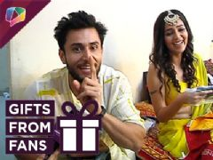 Leenesh Mattoo And Mansi Srivastav Receive Gifts From Their Fans | Ishqbaaaz