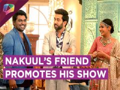 Zakir Khan On Ishqbaaaz Sets For Promotions | Star Plus