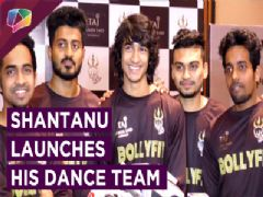 Shantanu Maheshwari Launches His Dance Team Desi Hoppers | Nia, Fatima & More Attend