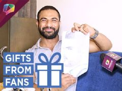 Mohommad Nazim Receives Gifts From His Fans