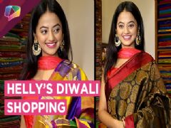 Helly Shah Shops For Her Diwali Outfit | Shares Diwali Plans