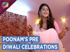 Poonam Preet AKA Juhi From Naamkaran Celebrates Pre Diwali With India Forums