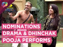 Dhinchak Pooja And Akash Perform | Nominations DRAMA | Bigg Boss 11 | Full Episode 16