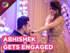 Abhishek Bajaj Gets Engaged | Romantic Ring Ceremony