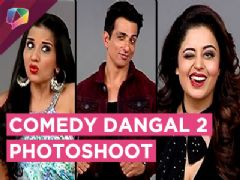 &TV's Comedy Dangal Season 2 Photoshoot | Monalisa, Rajiv |