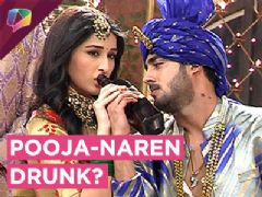 Both Pooja And Naren Get Drunk At Naren's Wedding