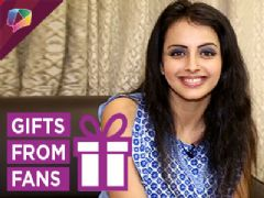Ishqbaaaz' Shrenu Parikh Accepts Gifts From Her Fans Part-01