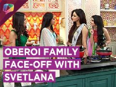 Anika, Gauri And Bhavya Fight With Svetlana In The Kitchen!