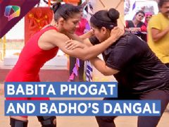 Komal aka Badho Gets Ready To Wrestle With Champ Babita Phogat