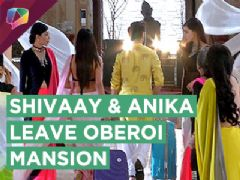Shivaay And Anika To Leave Oberoi Mansion | Ishqbaaaz | Star Plus