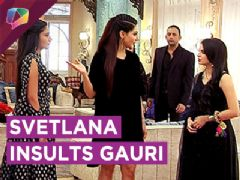 Anika Teaches Svetlana A Lesson For Insulting Gauri | Ishqbaaaz | Star Plus