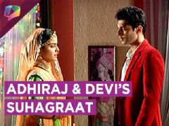 Adhiraj And Devi To Get Close On Their Suhagraat | Jeet Gayi Toh Piya Morey