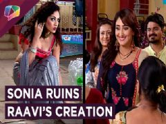 Raavi's Creation Destroyed By Sonia | Dil Dhoondta Hai | Zee Tv