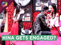 Hina Khan Gets ENGAGED To Rocky In Bigg Boss 11 | Marriage PROPOSAL | Colors Tv