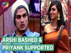 Gauahar Khan And Kamya Punjabi Bash Arshi Khan | Sana Khan SUPPORTS PRIYANK