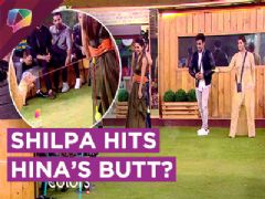 Shilpa Shinde HITS Hina Khan's BUTT | Hiten Wants To Marry Arshi | BB 11 | Colors Tv