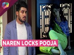 Naren LOCKS Pooja In A Room | Piya Albela | Zee Tv