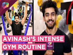 Avinash Mishra Aka Abhay Shares His Intense Gym Routine With India Forums | Ishqbaaaz
