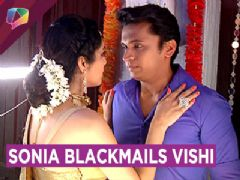 Sonia Blackmails Vishi And Forces Him For Suhagraat | Dil Dhoondta Hai | Zee tv