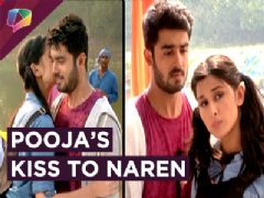 Pooja Gives Naren A Cute Kiss | Piya Albela | Zee Tv