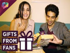 Sanaya Irani And Mohit Sehgal Receive Gifts From Their Fans | Exclusive | Gift Segment Part-02