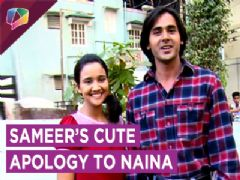Sameer's Cute Sorry To Naina | Naina Upset With Sameer | Yeh Unn Dino Ki Baat Hai | Sony Tv