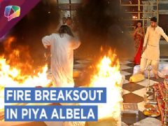 Naren Triggers A Fire Breakout | Guruji's Clothes Catch Fire | Piya Albela | Zee Tv