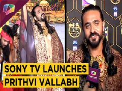 Sony Tv Launches Ashish Sharma Starrer Prithvi Vallabh | Exclusive Interview