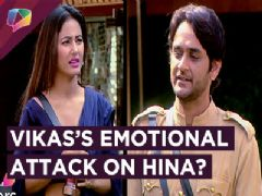 Vikas Gupta And Hina Khan's Personal Attack | Shilpa Calls Hina NAUTANKI | BB 11 | 12th January