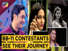 Vikas Gupta, Hina Khan, Shilpa Shinde And Puneesh Get EMOTIONAL | Bigg Boss 11 | Colors