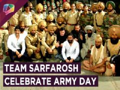 Mohit Raina & Team 21 Sarfarosh Celebrate Army Day By Hoisting The Indian Flag