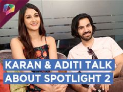 Karan V Grover & Aditi Aarya Talk About Spotlight 2 | Live | Exclusive | HD