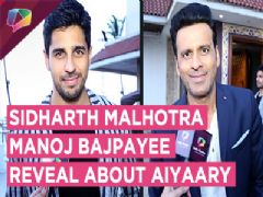 Behind-the-Scenes with Sidharth Malhotra- Manoj Bajpayee
