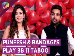 Bandagi Kalra And Puneesh Sharma Play Taboo | Bigg Boss 11 | Exclusive