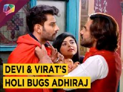 Adhiraj Warns Virat | Virat And Devi's Holi Session | Jeet Gayi Toh Piya Morey | Zee tv